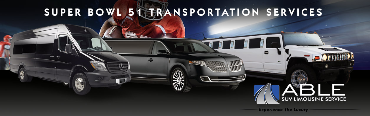 CALL FOR A FREE HOUSTON SUPER BOWL 51 LIMO PACKAGE QUOTE PHONE: 972-953-0060
