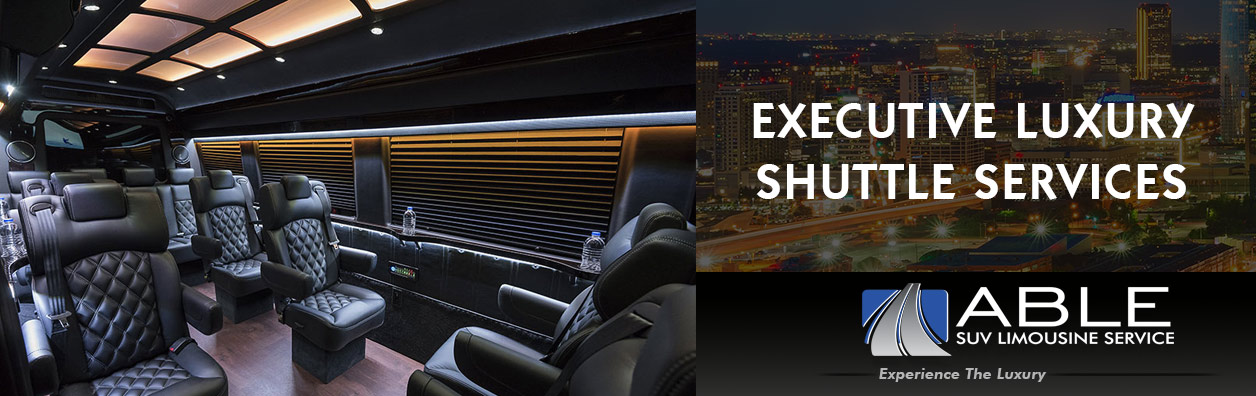 Sprinter Limo Service Rentals in Dallas, TX