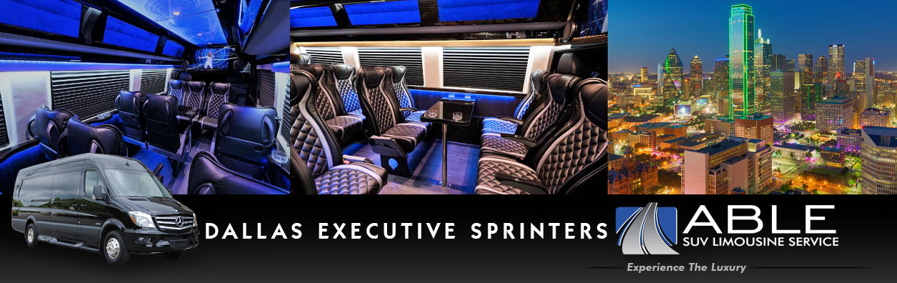 Dallas Executive Sprinter Shuttle Services