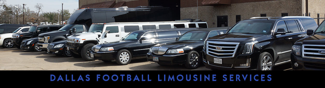 Dallas Cowboys Football Limo Service