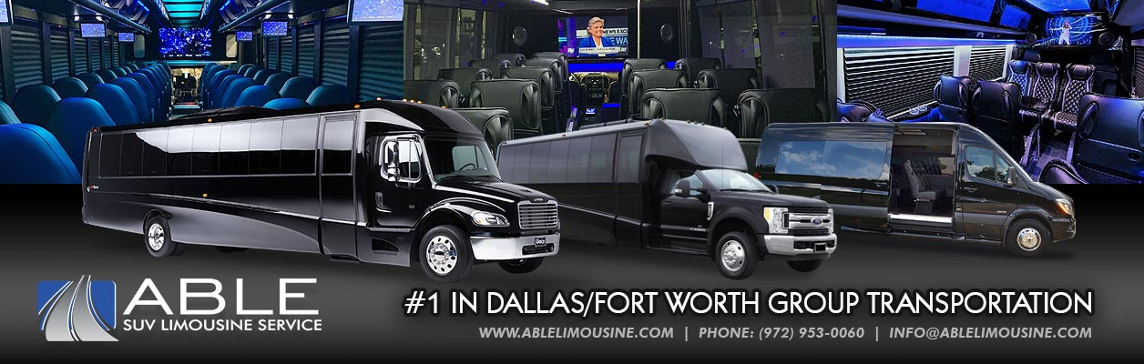 Executive Shuttle Service In Dallas Fort Worth By Able Suv Limousines