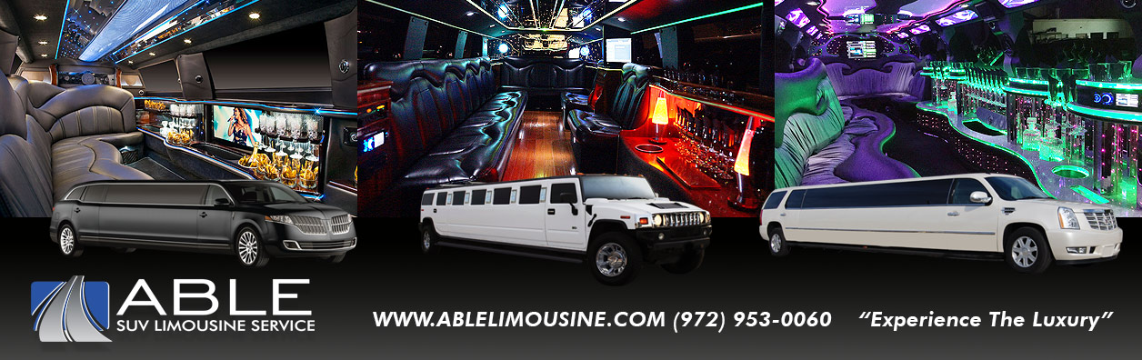 Dallas Limo Service Rentals - Dallas Limousine Services