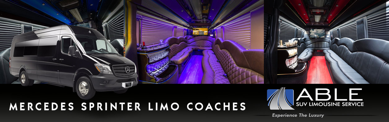 Dallas | Fort Worth Sprinter Limo Service Rentals