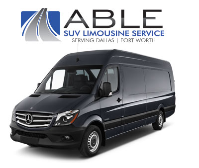 Executive Sprinter Shuttles by Able SUV Limousine