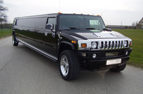 Black Stretched Hummer Limousine