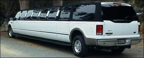 Stretch Excursion Limo 18-22 Passenger